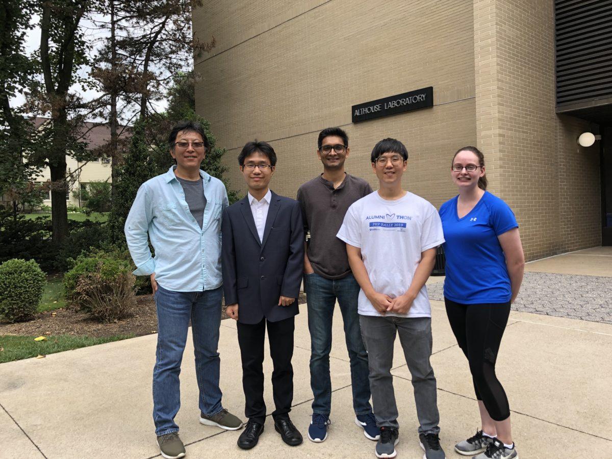 Katsu, Stanford, Zuhaib, Yeonoh and Catherine